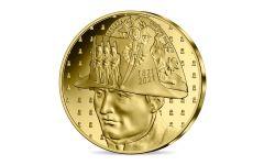 France 2021 50€ 1/4 oz Gold Napolean Proof