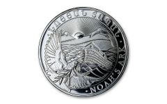 2021 Republic of Armenia 1 oz Silver Noah's Ark 500 Dram Coin Gem BU