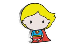 2021 Niue DC Comics Chibi Supergirl 1 oz Colorized Proof Silver $2 Coin GEM Proof OGP