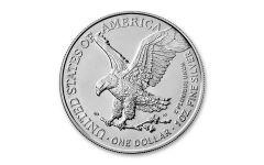 2021 $1 1-oz Silver Eagle Type 2 BU