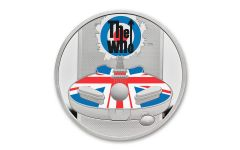 2021 Great Britain £2 1-oz Silver Legends of Music: The Who Colorized Proof