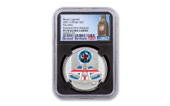 Great Britain 2021 £2 1oz Silver Legends of Music The Who Colorized Proof NGC PF70 First Releases w/ Black Core and Big Ben Label