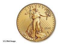 2021 $50 1OZ GOLD EAGLE T2 BU