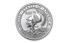 Intaglio Mint 2-oz Silver 1915 Panama-Pacific Expo Tribute Medal Gem BU