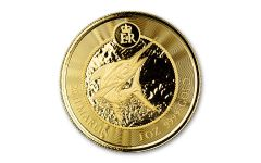 2021 Cayman Islands $5 1-oz Gold Marlin Coin Gem Proof-Like
