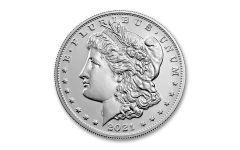2021(P) Morgan Silver Dollar BU w/CC Privy Mark