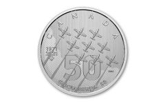 2021 Canada $5 1/4-oz Silver Moments to Hold: The Snowbirds Modified Gem Specimen