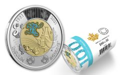 2021 Canada $2 Bi-Metal Insulin 100th Anniversary Coin Gem BU 25-pc Roll w/Special Wrap