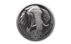 2021 1oz Silver Big 5 Elephant BU w/ Blister Pack