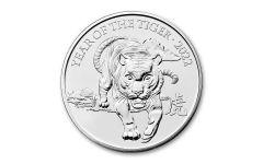 2022 Great Britain £5 28.28-gm CuNi Lunar Year of the Tiger BU