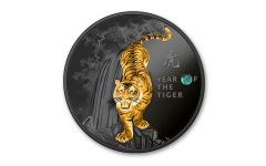Cameroon 2022 The Year of the Tiger Ruthenium Proof W/OGP
