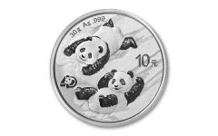 2022 China 30-gm Silver Panda Brilliant Uncirculated