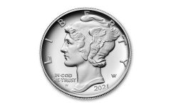 2021-W $25 1-oz Palladium American Eagle High Relief Proof
