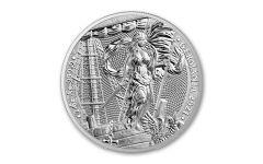 2021 Germania Mint 2-oz Silver Germania Medal Gem BU