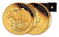 2021 Australia $15 1/10-oz Gold Kangaroo Proof