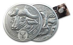 2021 1oz Silver Big 5 Buffalo BU w/ card