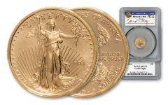 1994 $5 1/10 oz Gold Eagle PCGS MS70 MOY