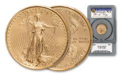 1997 $10 1/4 oz Gold Eagle PCGS MS70 MOY