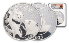 China 2021 1 Kilo Silver Panda NGC PF70UC FR – Tong Signature/Shenyang