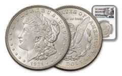 1921-dated Morgan NGC Brilliant Uncirculated (Anna Williams Label)