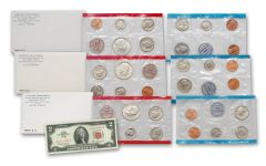 3PC 1968-1970 U.S. MINT SETS (30 COINS)