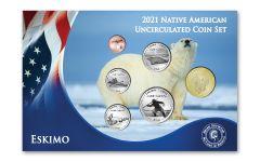 6pc 2021 Native American Eskimo Tribe BU Set