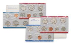 2PC 1980-1981 U.S. MINT SETS