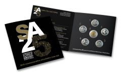 """2019 South Africa """"SA25"""" – 25th Anniversary of Democracy 6-pc Mint Set"""