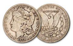 1878-P $1 Morgan 7TF VG+