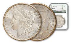 1904-S Morgan Silver Dollar NGC MS64 w/Green Label