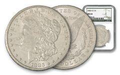 1883-CC Morgan Silver Dollar NGC MS64 w/Green Label