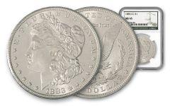 1883-CC Morgan Silver Dollar NGC MS65 w/Green Label