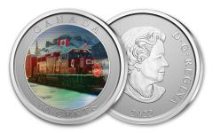 CANADA 2022 50 CENT CP HOLIDAY TRAIN LENTICULAR