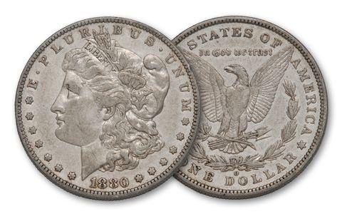 1880-O Morgan Silver Dollar XF