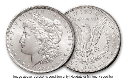 1898-P Morgan Silver Dollar BU