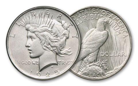 1922-1926 Peace Dollar BU