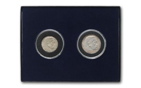 1936-1939 German Reichsmark Silver Set