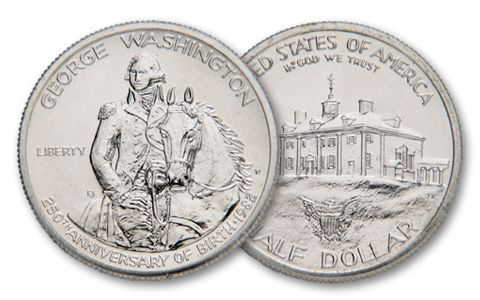 1982-D 50 Cent Washington Commemorative BU