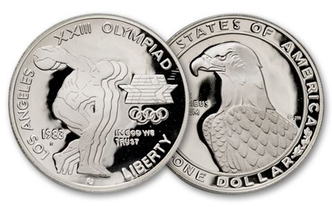 1983-S 1 Dollar Olympic Commemorative Proof