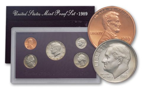 1989 United States Proof Set