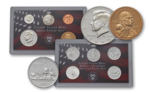 2000 United States Silver Proof Set