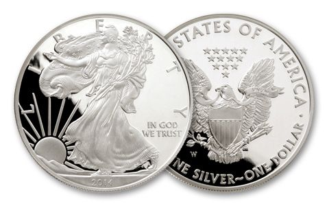 2014 1-oz Silver Eagle Proof