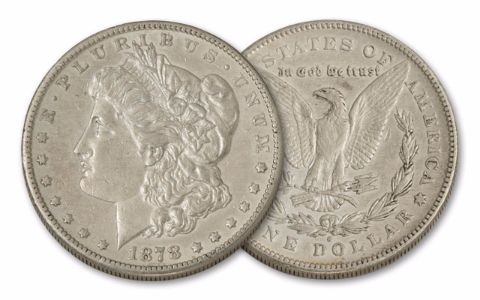 1878-S Morgan Silver Dollar XF