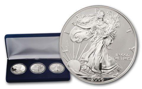 2006 Silver Eagle 20th Anniversary Set 3pc