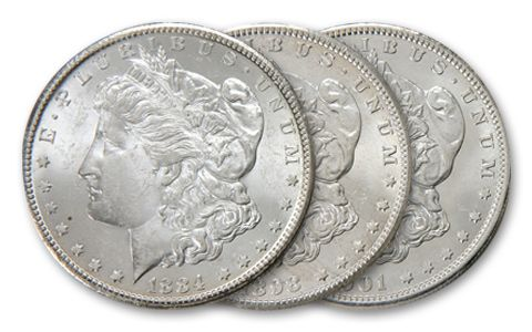 Dixieland Morgan Silver Dollar Mint Collection