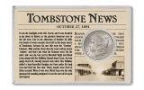 1881-S Morgan Tombstone Silver Dollar BU