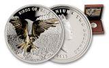 2013 Niue 1-oz Silver Birds Of Prey Osprey Proof