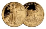 2004 U.S. Gold Eagle PCGS PR70DCAM Moy 4-Pc Set