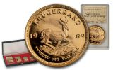 1989 South Africa Krugerrand Gold Reef City Mint Proof 4pc