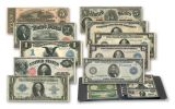Large Size Paper Currency Collection 1/2/5/10/20 Dollars 10pc